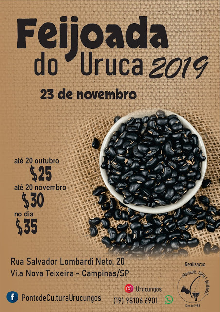 Feijoada do Uruca 2019